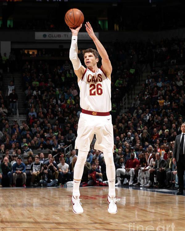 Nba Pro Basketball Poster featuring the photograph Kyle Korver by Jordan Johnson