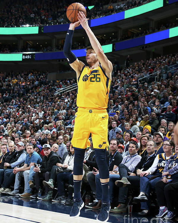 Nba Pro Basketball Poster featuring the photograph Kyle Korver by Melissa Majchrzak