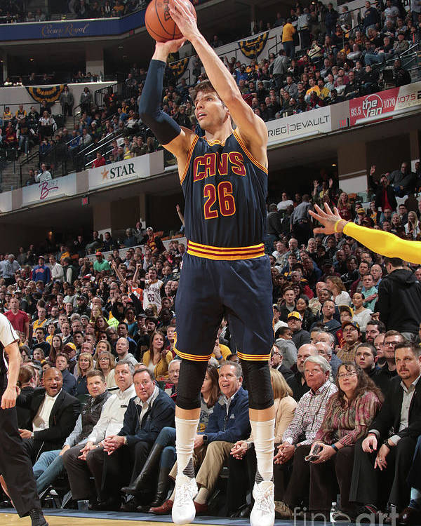 Nba Pro Basketball Poster featuring the photograph Kyle Korver by Ron Hoskins