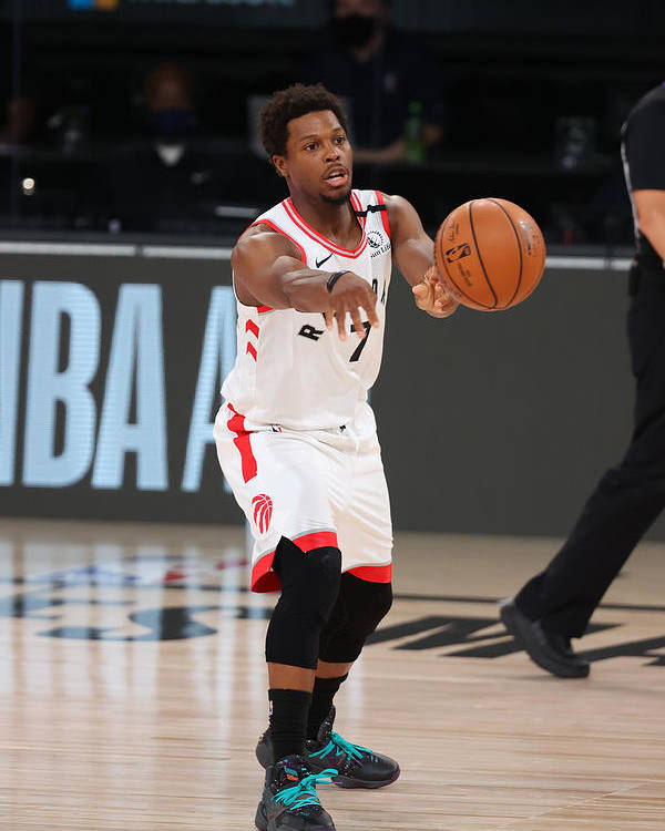 Nba Pro Basketball Poster featuring the photograph Kyle Lowry by David Sherman