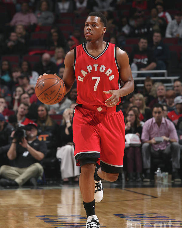People Poster featuring the photograph Kyle Lowry by Gary Dineen