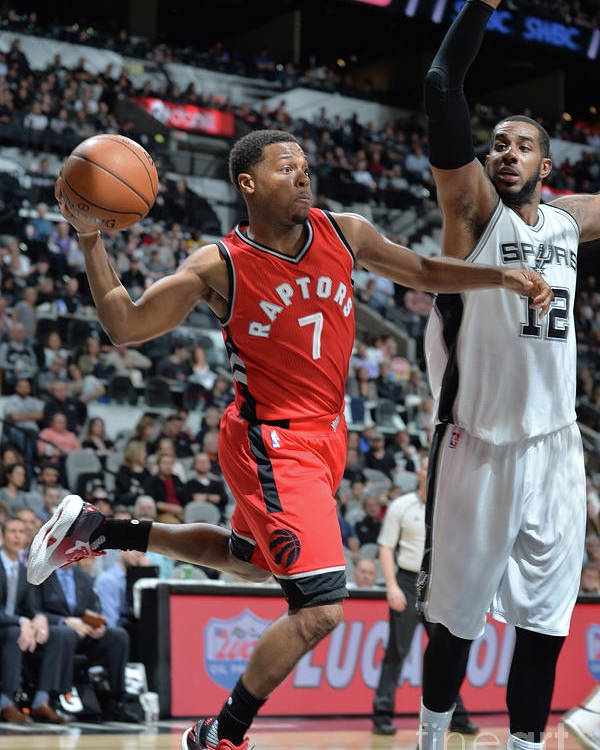 Nba Pro Basketball Poster featuring the photograph Kyle Lowry by Mark Sobhani
