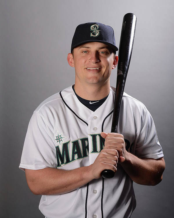 Media Day Poster featuring the photograph Kyle Seager by Norm Hall