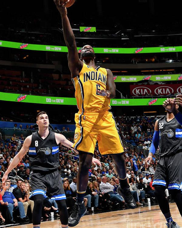 Nba Pro Basketball Poster featuring the photograph Lance Stephenson by Fernando Medina
