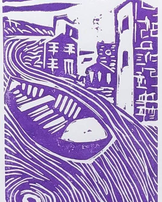 Boat Poster featuring the relief Little boat by Biagio Civale