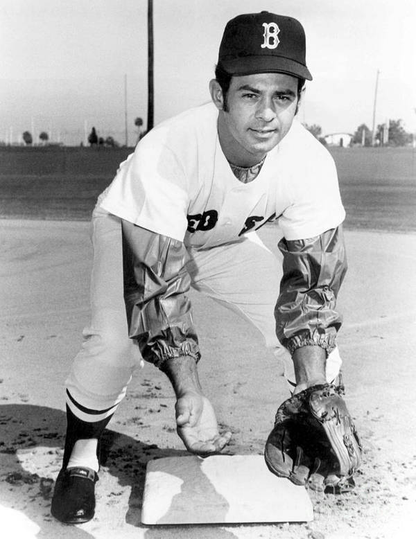 National League Baseball Poster featuring the photograph Luis Aparicio by National Baseball Hall Of Fame Library