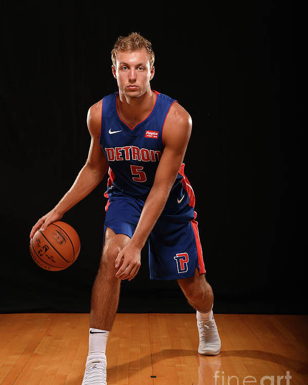Nba Pro Basketball Poster featuring the photograph Luke Kennard by Brian Babineau