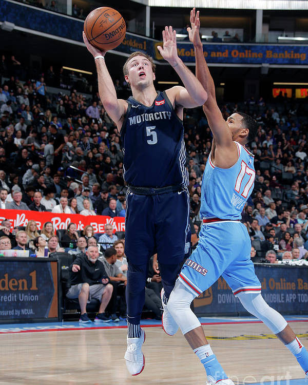 Nba Pro Basketball Poster featuring the photograph Luke Kennard by Rocky Widner