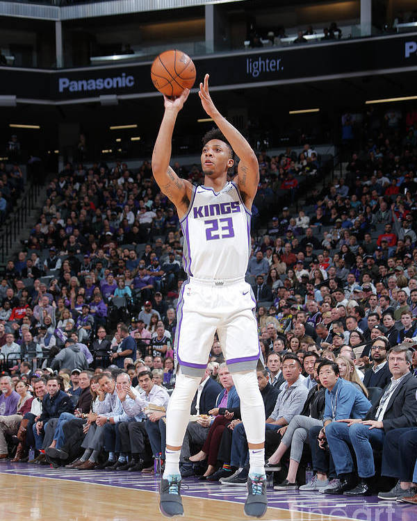 Nba Pro Basketball Poster featuring the photograph Malachi Richardson by Rocky Widner