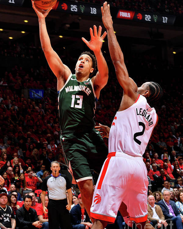 Playoffs Poster featuring the photograph Malcolm Brogdon by Jesse D. Garrabrant