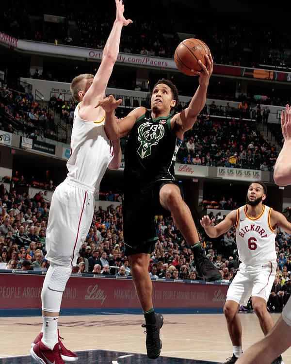 Nba Pro Basketball Poster featuring the photograph Malcolm Brogdon by Ron Hoskins