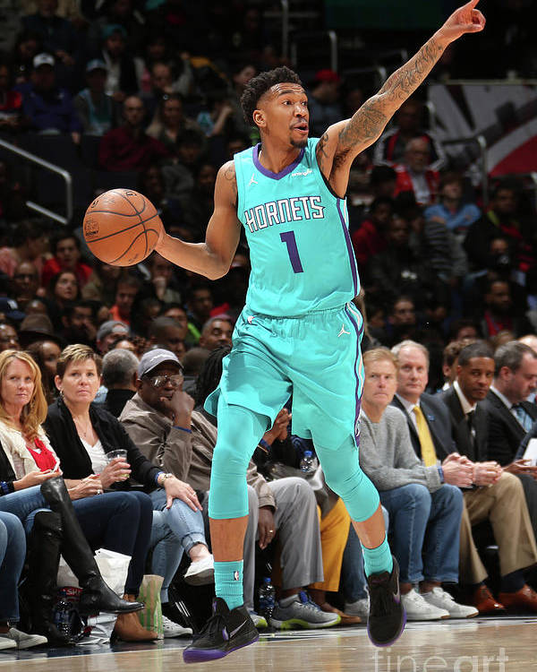 Nba Pro Basketball Poster featuring the photograph Malik Monk by Ned Dishman