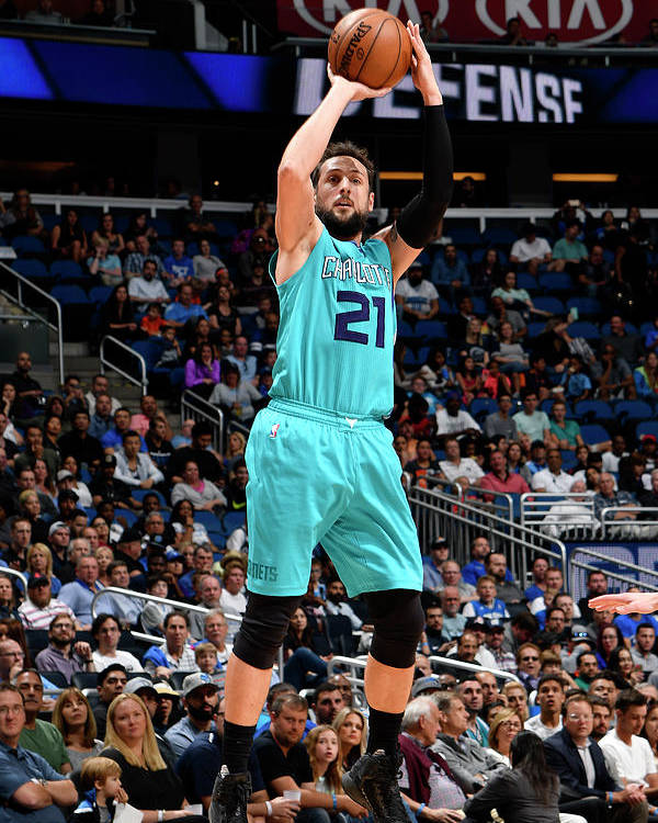 Nba Pro Basketball Poster featuring the photograph Marco Belinelli by Fernando Medina