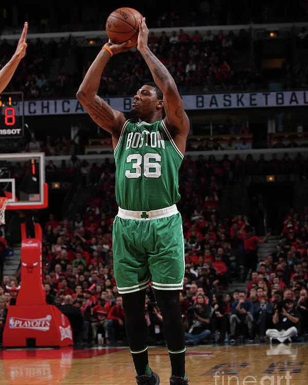 Playoffs Poster featuring the photograph Marcus Smart by Gary Dineen