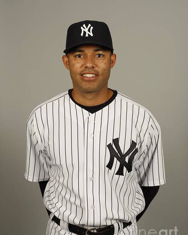 Media Day Poster featuring the photograph Mariano Rivera by Robert Rogers