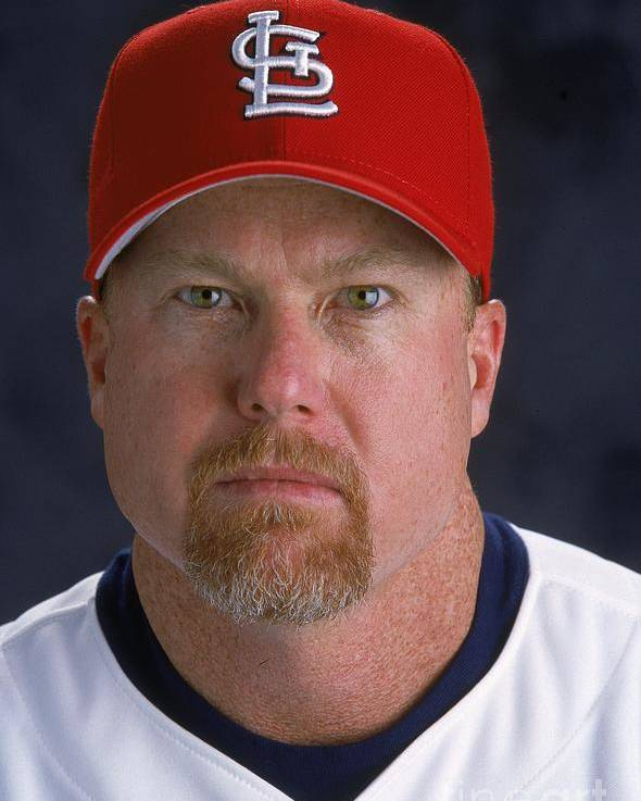 St. Louis Cardinals Poster featuring the photograph Mark Rogers by Andy Lyons