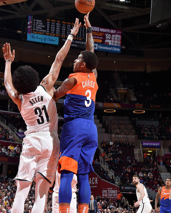 Nba Pro Basketball Poster featuring the photograph Marquese Chriss by David Liam Kyle