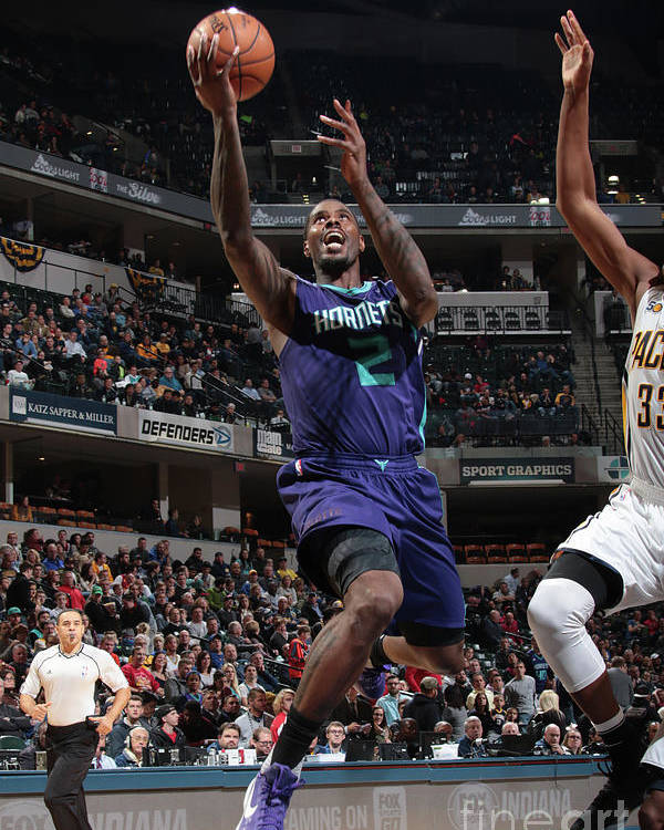 Nba Pro Basketball Poster featuring the photograph Marvin Williams by Ron Hoskins