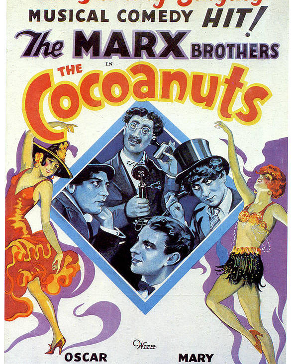Marx Brothers ''The Cocoanuts'' poster by Stars on Art