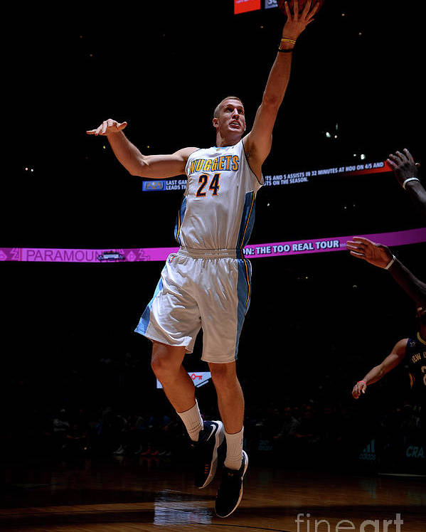 Nba Pro Basketball Poster featuring the photograph Mason Plumlee by Bart Young