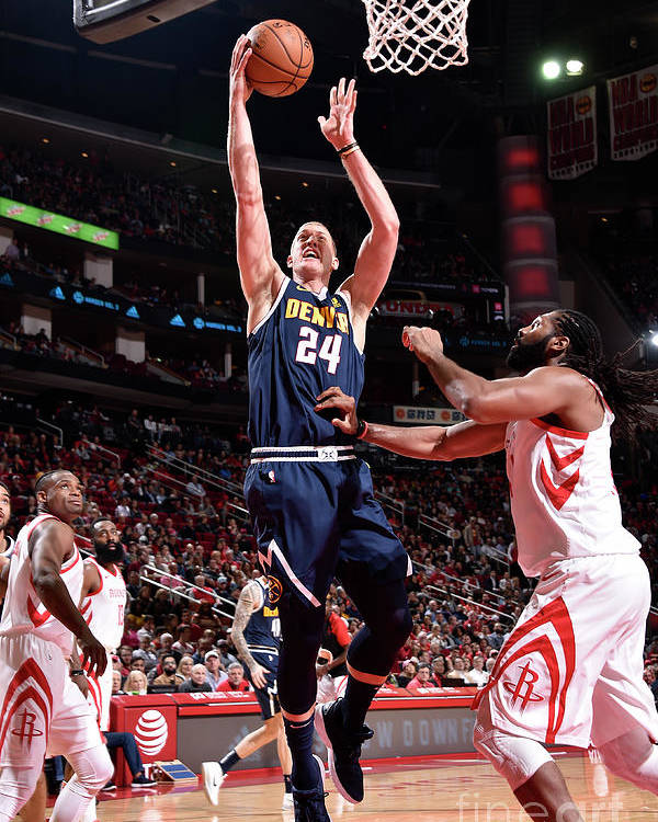 Nba Pro Basketball Poster featuring the photograph Mason Plumlee by Bill Baptist