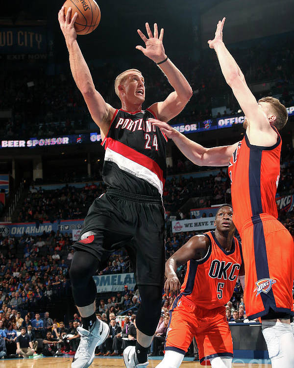 Nba Pro Basketball Poster featuring the photograph Mason Plumlee by Layne Murdoch
