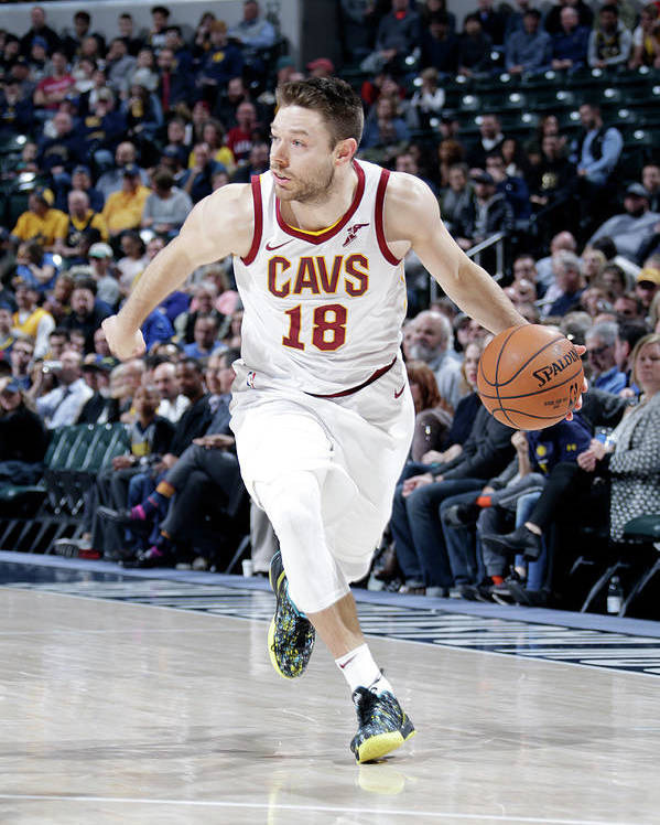Nba Pro Basketball Poster featuring the photograph Matthew Dellavedova by Ron Hoskins