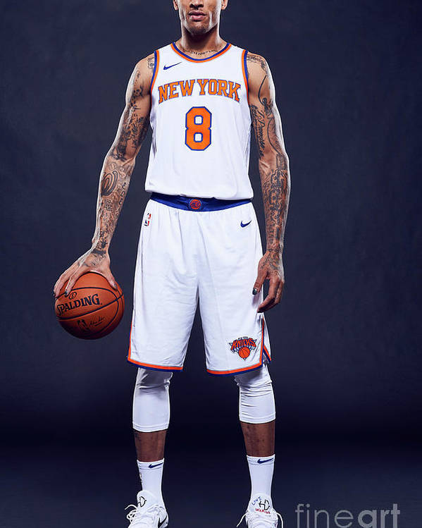Media Day Poster featuring the photograph Michael Beasley by Jennifer Pottheiser