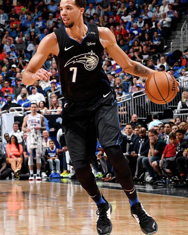 Nba Pro Basketball Poster featuring the photograph Michael Carter-williams by Fernando Medina