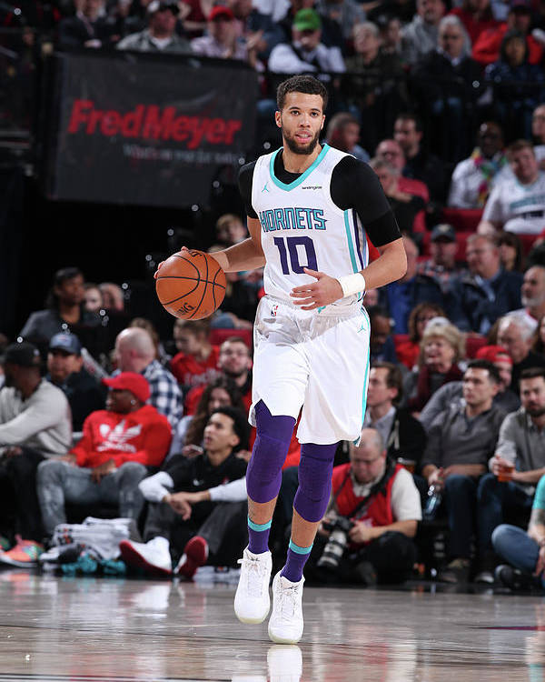 Nba Pro Basketball Poster featuring the photograph Michael Carter-williams by Sam Forencich