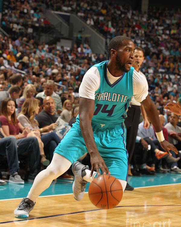 Sport Poster featuring the photograph Michael Kidd-gilchrist by Brock Williams-smith