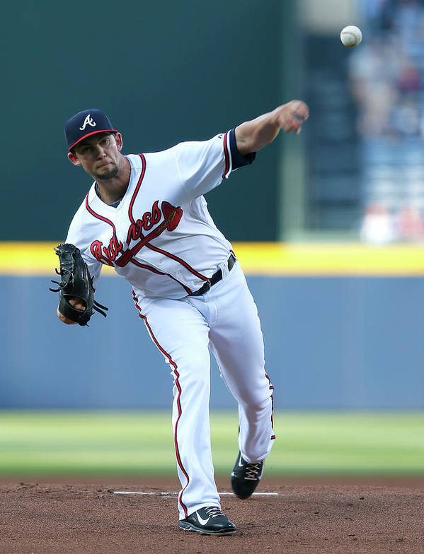 Atlanta Poster featuring the photograph Mike Minor by Kevin C. Cox