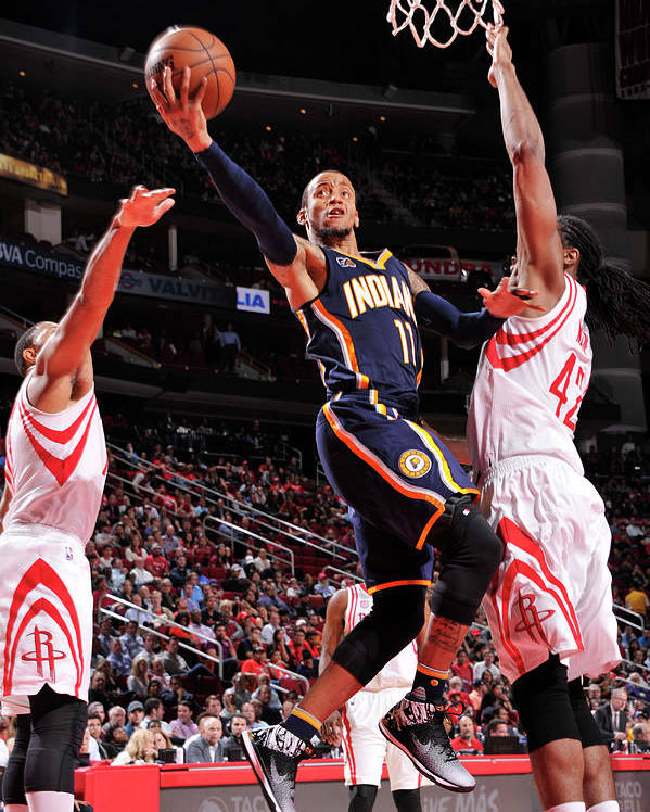 Nba Pro Basketball Poster featuring the photograph Monta Ellis by Bill Baptist