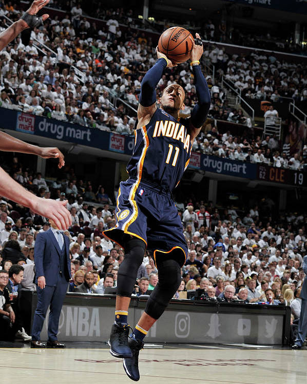 Playoffs Poster featuring the photograph Monta Ellis by David Liam Kyle