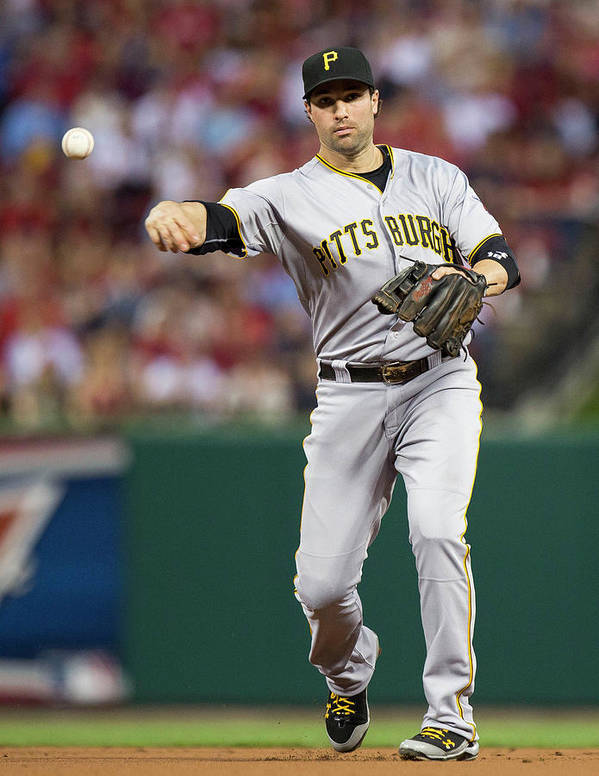 Second Inning Poster featuring the photograph Neil Walker by David Welker
