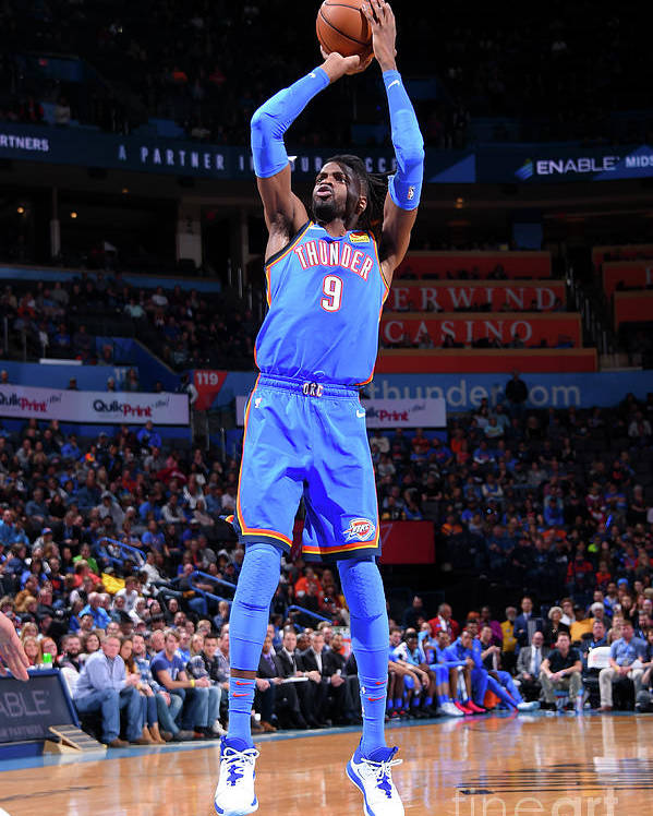 Nba Pro Basketball Poster featuring the photograph Nerlens Noel by Bill Baptist
