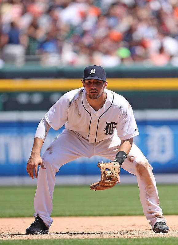 American League Baseball Poster featuring the photograph Nick Castellanos by Leon Halip