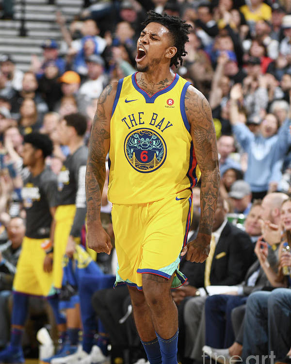 Nba Pro Basketball Poster featuring the photograph Nick Young by Garrett Ellwood