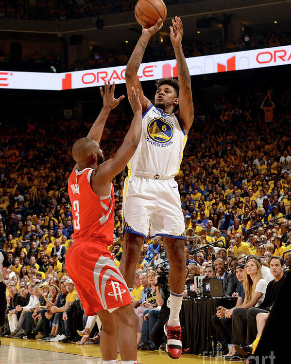Playoffs Poster featuring the photograph Nick Young by Noah Graham