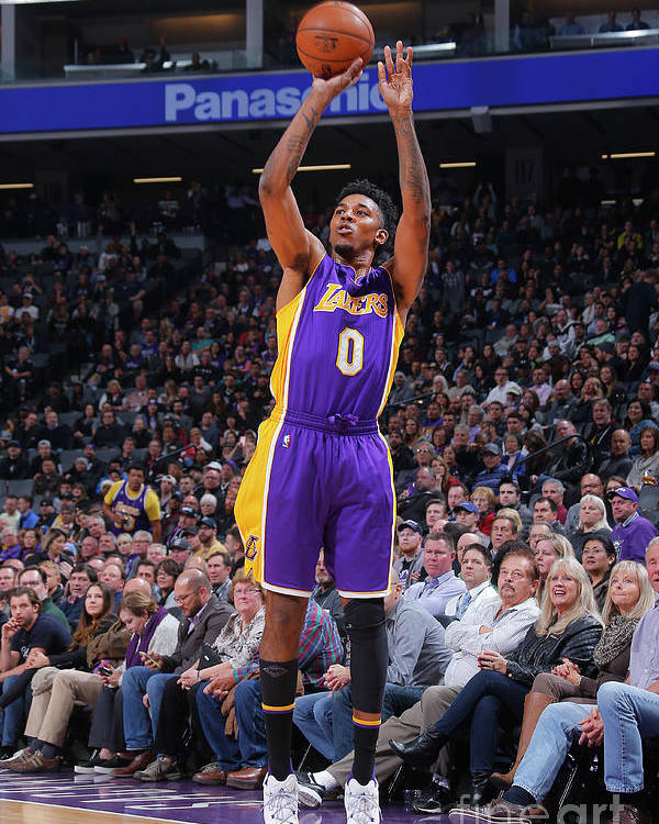 Nba Pro Basketball Poster featuring the photograph Nick Young by Rocky Widner