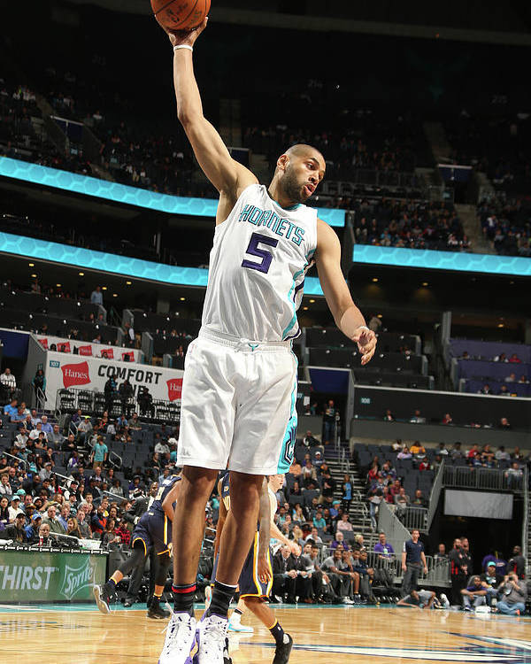 Nicolas Batum Poster featuring the photograph Nicolas Batum by Kent Smith