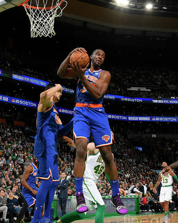 Nba Pro Basketball Poster featuring the photograph Noah Vonleh by Brian Babineau