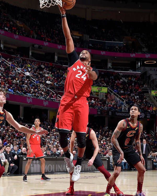 Nba Pro Basketball Poster featuring the photograph Norman Powell by David Liam Kyle