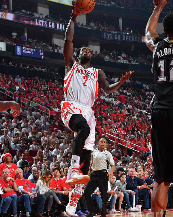 Playoffs Poster featuring the photograph Patrick Beverley by Jesse D. Garrabrant