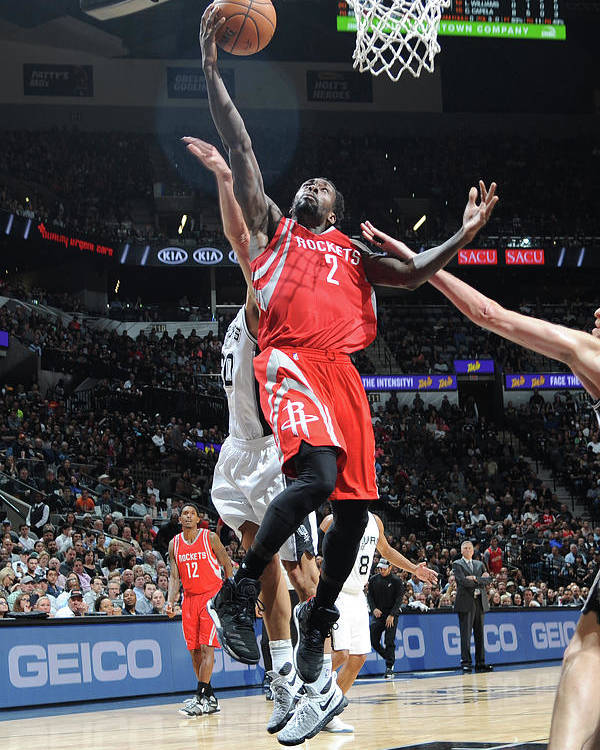 Nba Pro Basketball Poster featuring the photograph Patrick Beverley by Mark Sobhani