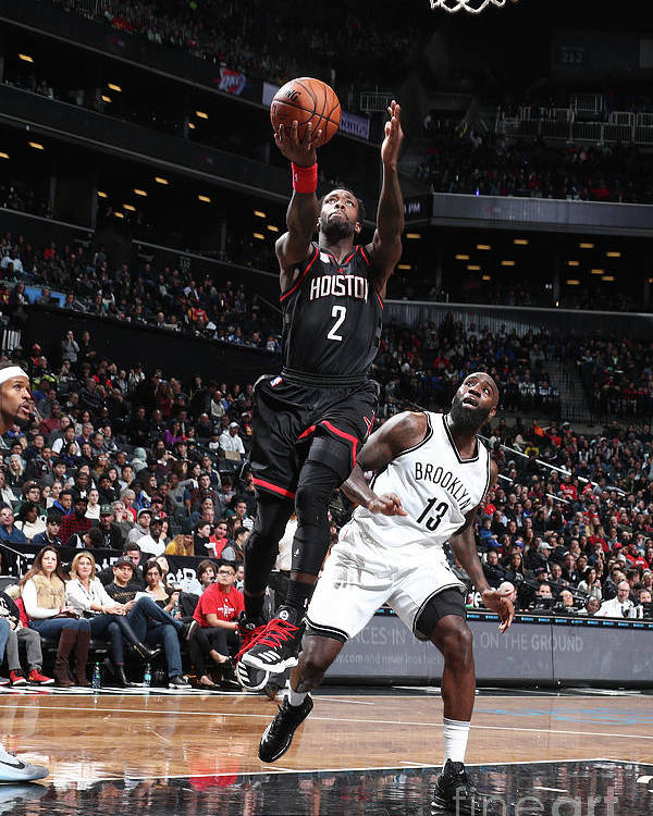 Nba Pro Basketball Poster featuring the photograph Patrick Beverley by Nathaniel S. Butler