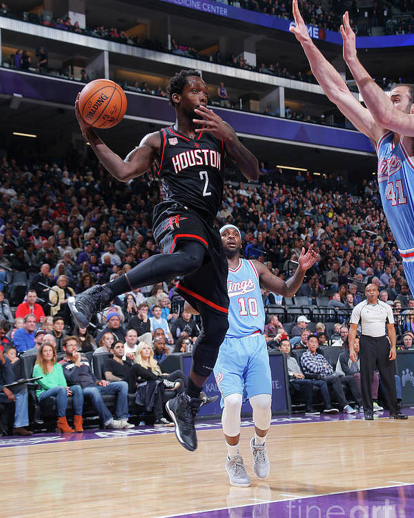 Nba Pro Basketball Poster featuring the photograph Patrick Beverley by Rocky Widner
