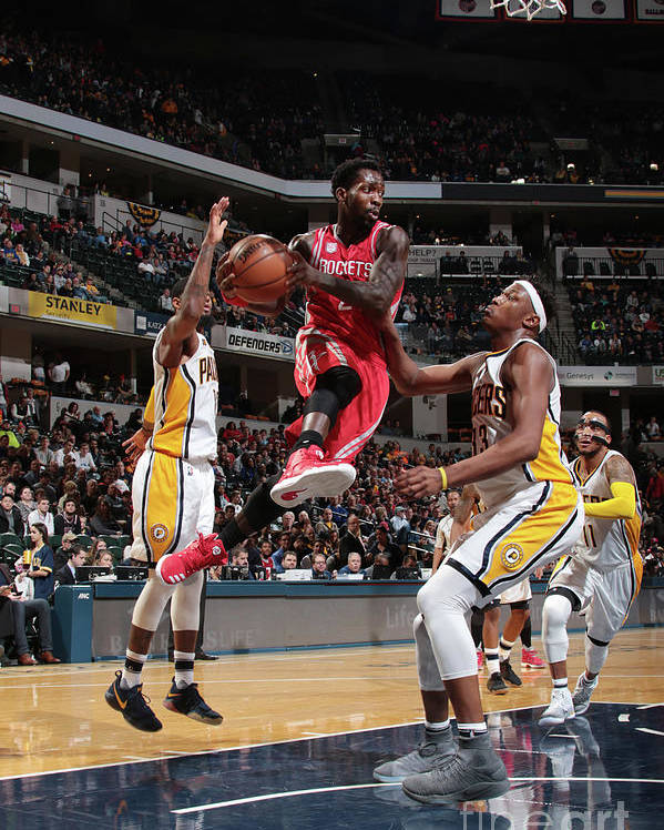 Nba Pro Basketball Poster featuring the photograph Patrick Beverley by Ron Hoskins