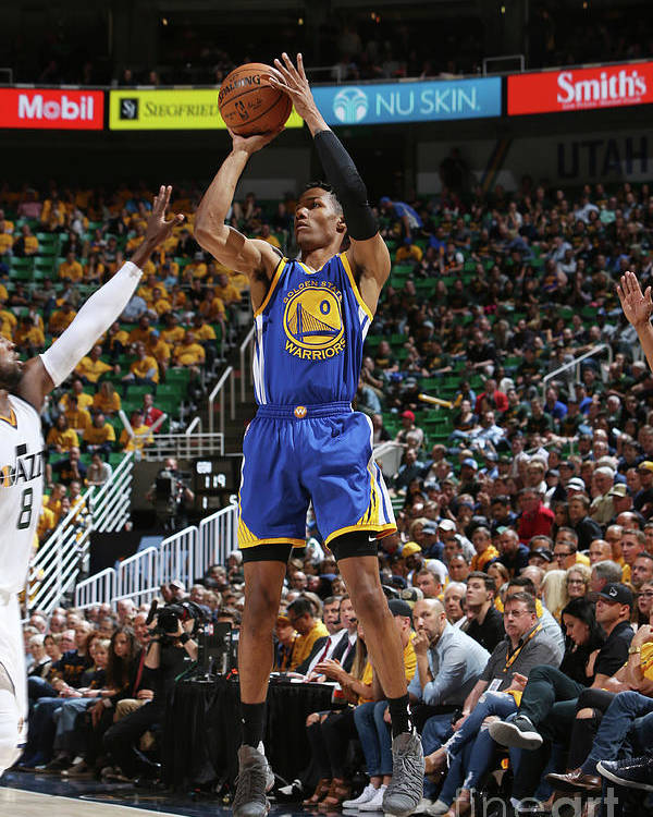 Playoffs Poster featuring the photograph Patrick Mccaw by Melissa Majchrzak