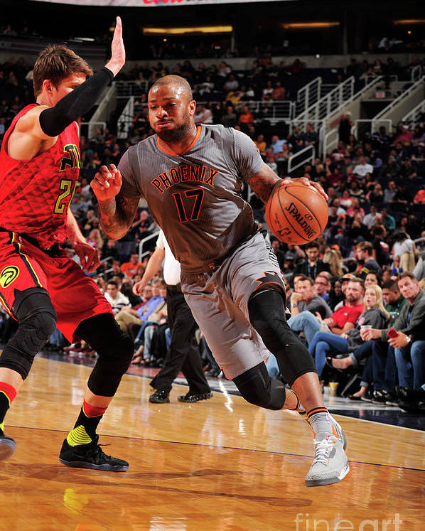 Nba Pro Basketball Poster featuring the photograph P.j. Tucker by Barry Gossage